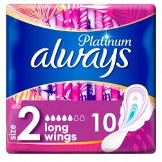 Always Platinum Long, 10 Pads