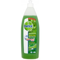 Dettol Spray & Wipe Floor Cleaner, Green Apple