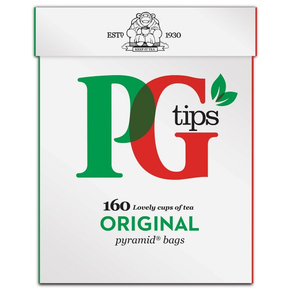 PG Tips Free Flow Tea, 160s