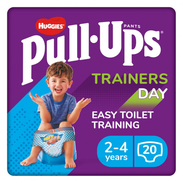Huggies Pull-Ups Trainers Day, Boy 2-4 Years