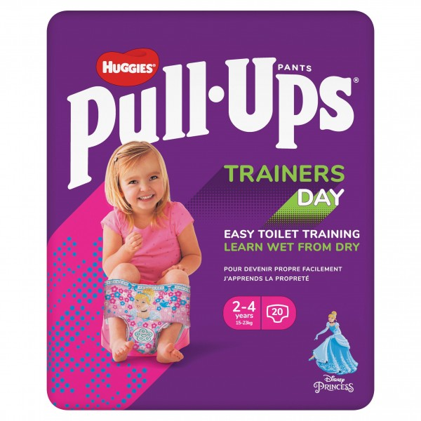 Huggies Pull-Ups Trainers Day, Girl 2-4 Years