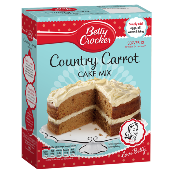 Betty Crocker Country Carrot Cake Mix