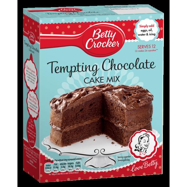 Betty Crocker Tempting Chocolate Cake Mix