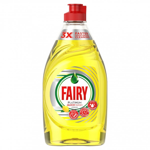 Fairy Platinum Washing Up Liquid, Lemon