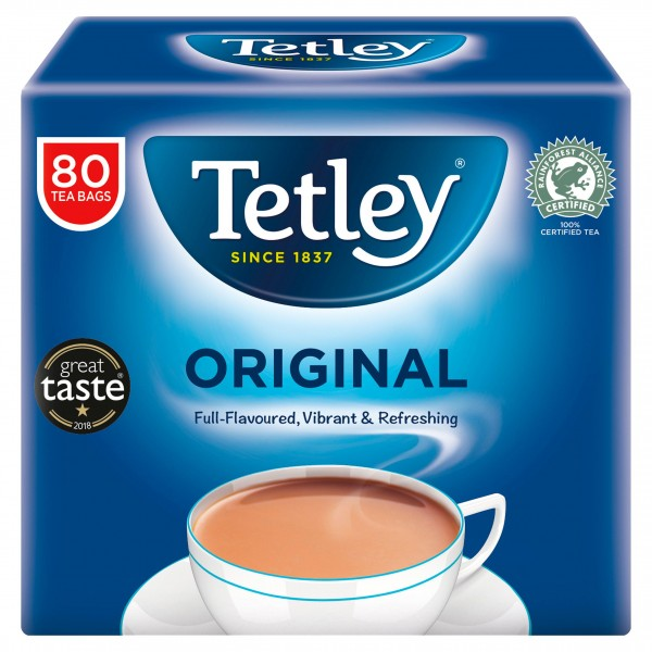 Tetley Original Tea Bags, 80s