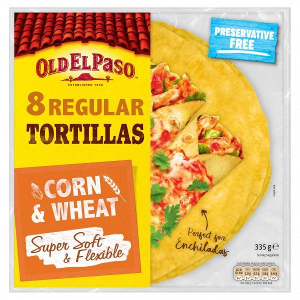Old El Paso Super Soft Corn & Wheat Tortillas