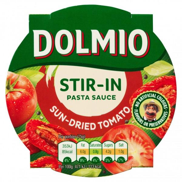 Dolmio Stir In Sun Dried Tomato Pasta Sauce