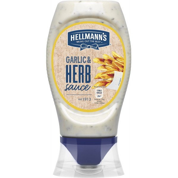 Hellmann's Garlic and Herb Sauce