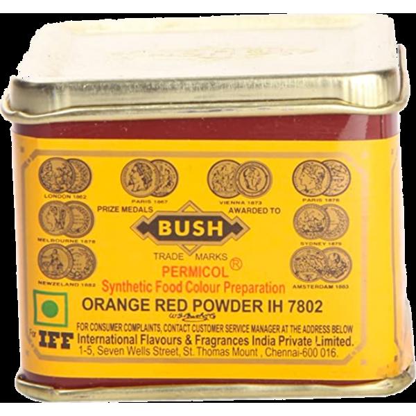 Bush Orange Red Powder