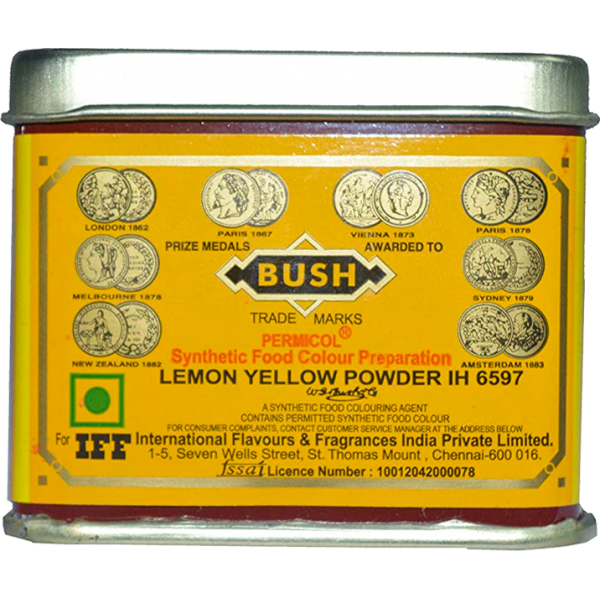 Bush Lemon Yellow Food Colour