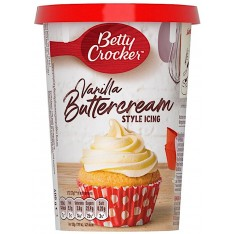 Betty Crocker Vanilla Buttercream Style Icing