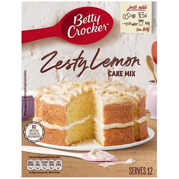 Betty Crocker Zesty Lemon Cake Mix