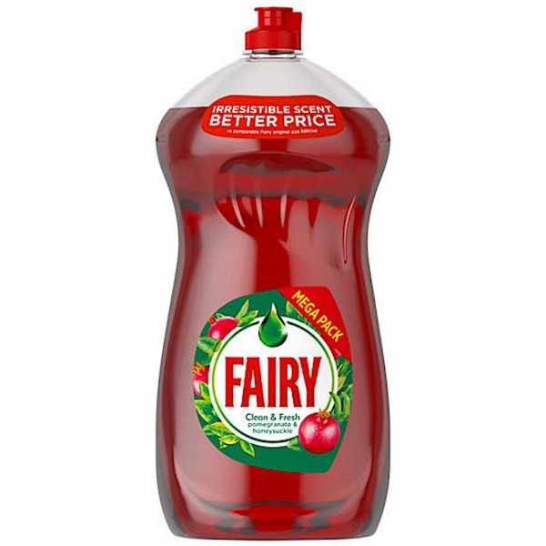 Fairy Pomegranate Festive Washing Up Liquid, 1.19L