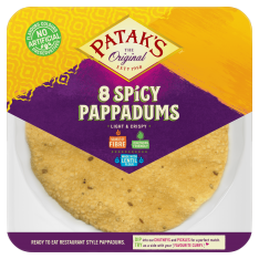 Patak's Spicy Pappadums