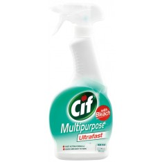 Cif Ultrafast Multipurpose Spray with Bleach, 450ml