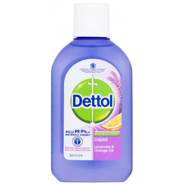 Dettol Lavender & Orange Oil Liquid