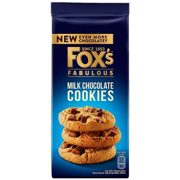 Fox's Fabulous Milk Chocolate Cookies