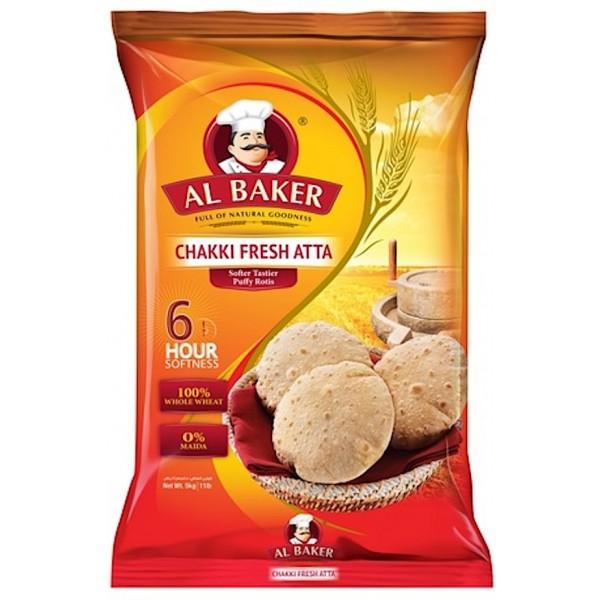 Al Baker Chakki Fresh Atta, 10Kg