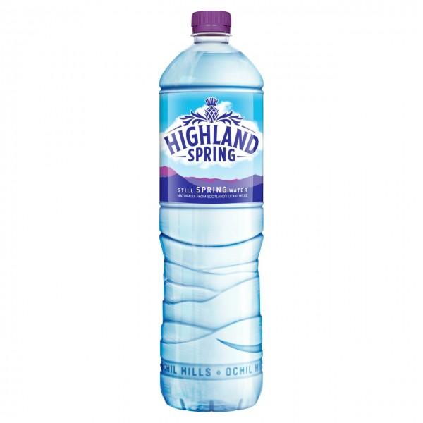 Highland Spring Still Water, 12 x 1.5l