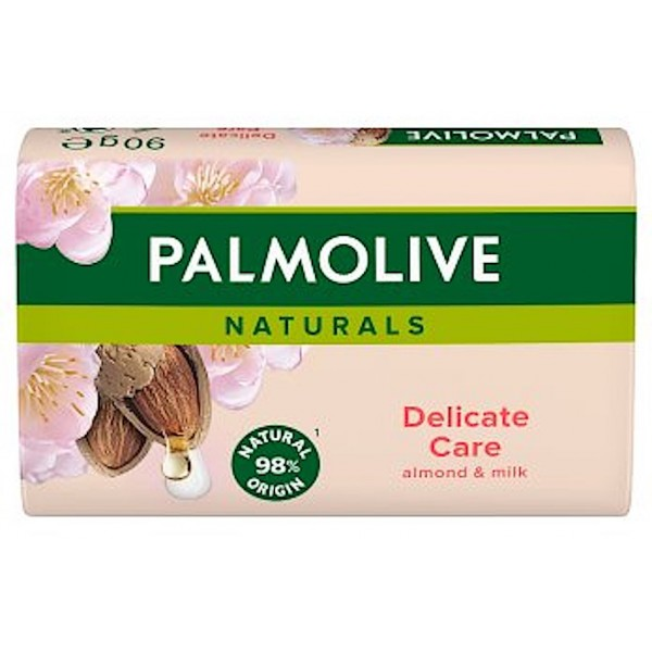 Palmolive Delicate Care Almond Milk Soap, 3 Pack