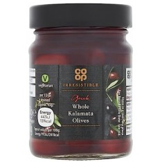 Co-op Irresistible Greek Whole Kalamata Olives