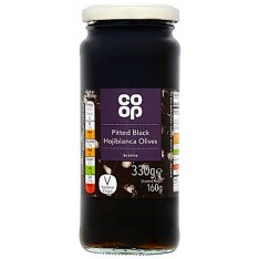 Co-op Pitted Black Hojiblanca Olives in Brine