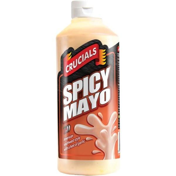 Crucials Spicy Mayo Sauce, 500ml
