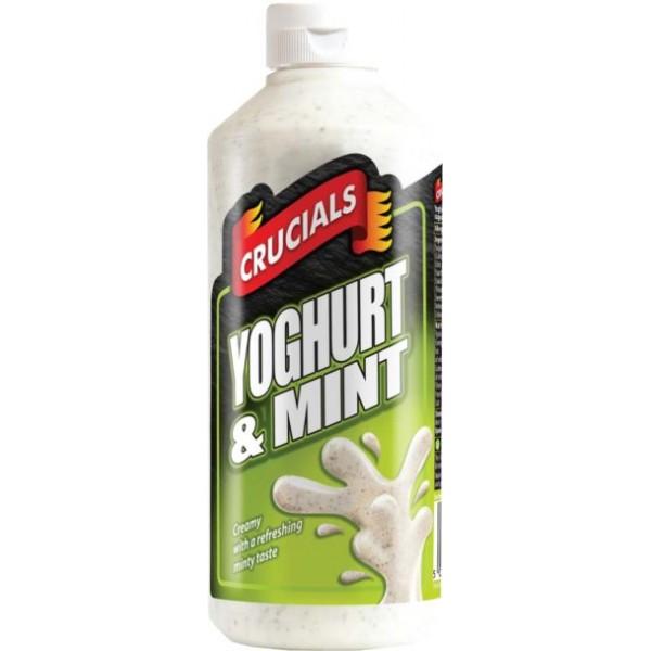 Crucials Yoghurt & Mint Sauce, 500ml
