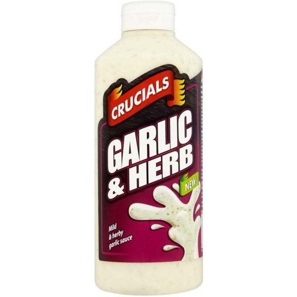 Crucials Garlic & Herb Sauce, 500ml