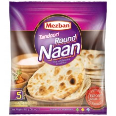 Mezban Tandoori Round Naan