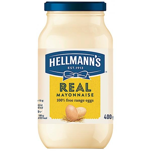 Hellmann's Real Mayonnaise, 400g