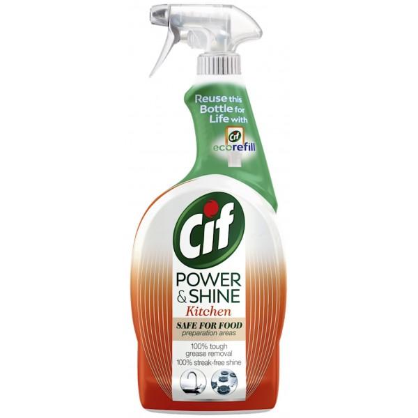 Cif Power & Shine Kitchen Spray