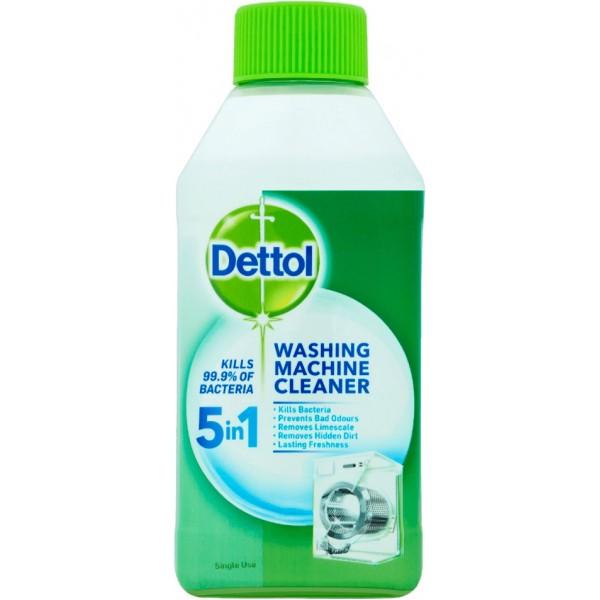 Dettol 5-in-1 Antibacterial Washing Machine Cleaner