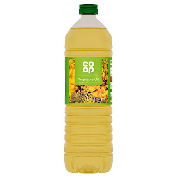 Co-op Pure Vegetable Oil, 1 Litre