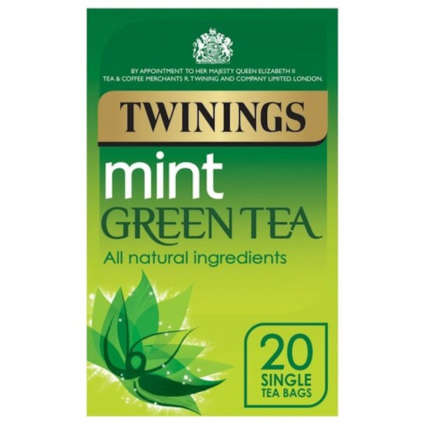 Twinings Green Tea with Mint, 20S
