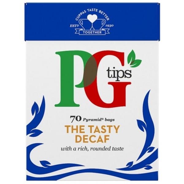 PG tips Decaffeinated Tea, 70s