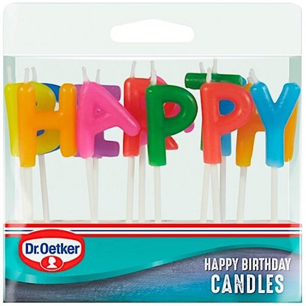 Dr. Oetker Happy Birthday Candles