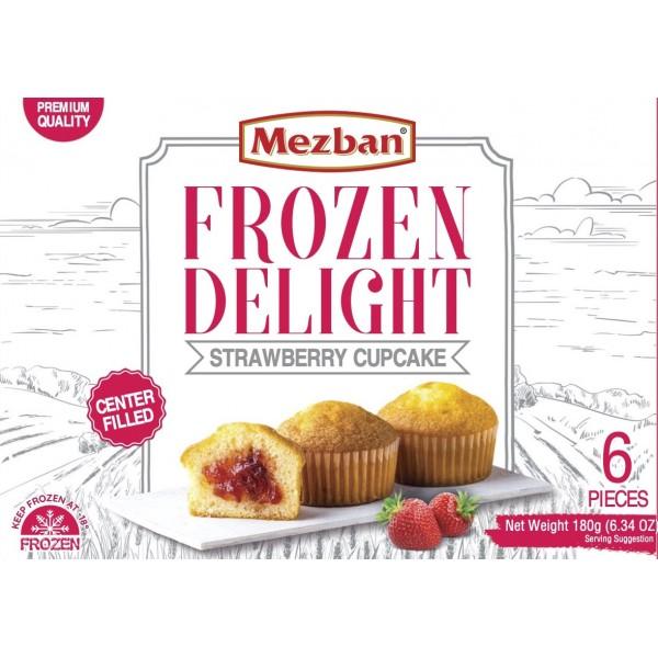Mezban Strawberry Cupcake (6x30g)