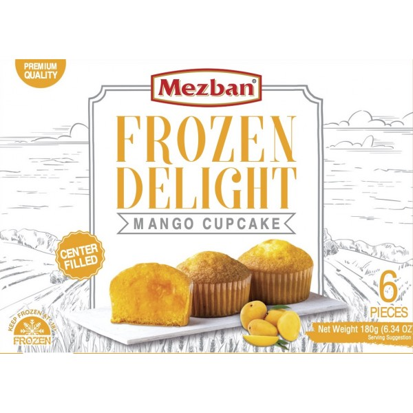 Mezban Mango Cupcake (6x30g)