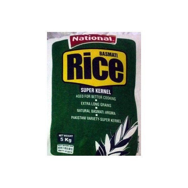 National Rice 5 KG